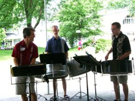 Steel Drum Trio